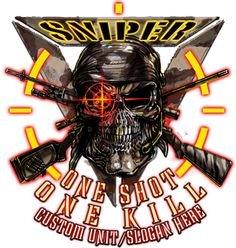 One Shot One Kill Sniper Shirt
