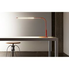 Task Lamp by Pablo: energy efficient adjustable LED desk lamp with a built-in USB port for charging mobile devices. Slim design for the modern office Task Lighting, Modern Lighting, Lighting Design, House Lighting, Desk Light, Lamp Light, Light Led, Contemporary Table Lamps, Task Lamps