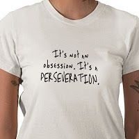 Autism perseveration