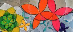 """""""Primavera da Fefa"""" é uma obra de arte abstrata geométrica, em acrílico sobre tela, com cores fortes e brilhantes. Artista brasileiro Quim Alcantara - http://quim.com.br/arte/primavera-da-fefa"""