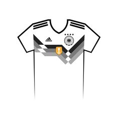 Vote for your favourite World Cup shirt! Germany World Cup Shirt Vector World Cup Shirts, World Cup Teams, Team Shirts, Your Favorite, Russia, Germany, Kit, Football Jerseys, Deutsch