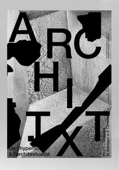 Archi.Txt - Matthieu Salvaggio - Art Direction & Graphic Design
