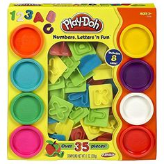PlayDoh Numbers Letters N Fun Art Multi Kids Toddler Games Play Set Playdough Must Have *** Check out this great product.