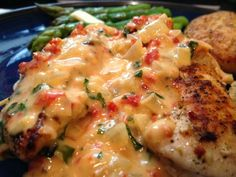 Chicken with Sun Dried Tomato-Basil Sauce