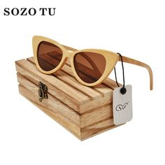 2017 New fashion Products Men Women Bamboo Sunglasses Polarized Lens Wooden Frame Handmade Free Shipping