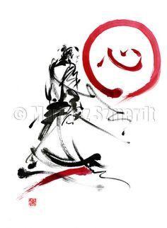 Samurai poster samurai sword logo design samurai by SamuraiArt