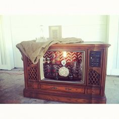 20 OFFTV Bar Furniture & Shelf Storage by MissBellaMaes on Etsy, $300.00