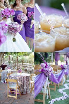 Phoenician Wedding : Kelsey + Kevin   A purple wedding