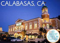 13. Calabasas Situated in the hills west of the San Fernando Valley, Calabasas is a prosperous city that offers residents a wonderful mix of activities for mind and body. Calabasas is also an educated city, with over half the residents having earned a bachelor's degree or higher