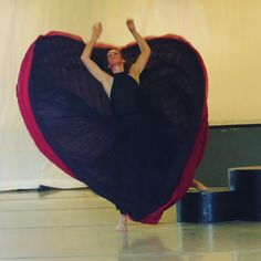 """""""Dancing heart !Went to a rehearsal at @marthagrahamdance ...strength, beauty and grace ! Love Diane"""""""