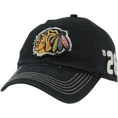 '47 Brand Chicago Blackhawks Badger Franchise Flex Hat - Black