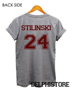 stiles stilinski shirt teen wolf shirt t shirt by DelphiStore