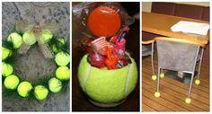 16 astuces insolites à faire avec des balles de tennis