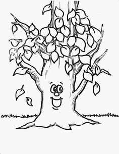 Maple Tree Coloring Page Worksheets Kindergarten and Craft