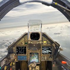 #Repost @instagramtopics #Repost @philippetondeur Mirage 2000-5 cockpit taken on March 1 2910 by Pascal Daniel Muyovu by militarytopics