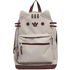 Details about Pusheen The Cat - Cat Face Backpack Standard Bag - Bags/Backpacks - Katzen Cat Backpack, Travel Backpack, Pusheen Backpack, Pusheen Gifts, Pusheen Stuff, Mode Harry Potter, Kawaii Clothes, Cute Bags, Cat Face