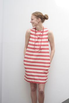 Stripe Mania 3 Sack Dress