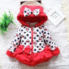 Детские куртки осень-зима из Китая :: Дети детей к 2015 году Зимние девочек вниз baby хлопок хлопок хлопок мягкий слой милый ребенок куртка.