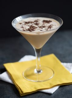 Boston Cream Martini