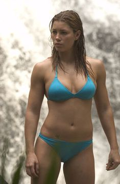 Jessica Biel has the best body. She looks so strong!