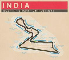 Buddh International Circuit, India - #SMDriver #F1