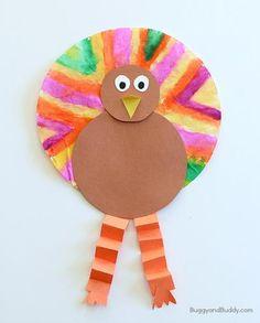 Seasonally Sweet Pumpkin Pie Kids Craft | AllFreeKidsCrafts.com