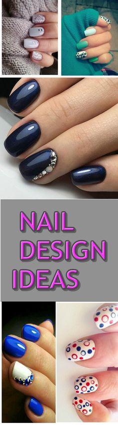 15+ NAIL DESIGN IDEAS FOR SHORT NAILS #nail #beauty