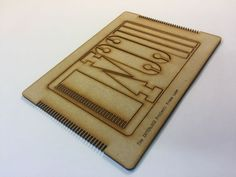 Picture of Laser Cut Mini Frame Loom Weaving