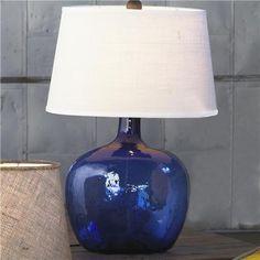 Shades of Light-  Demijohn Table Lamp - 8 Colors!