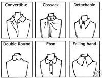 Illustrated Clothing Description Terms - Collars   eBay
