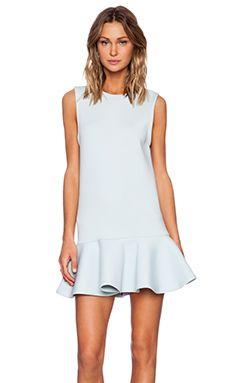 Cameo Lay Low Dress in Duck Egg