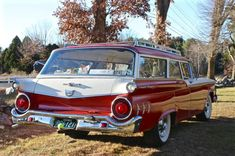 Learn more about One Owner & Original Paint: 1959 Ford Ranch Wagon on Bring a Trailer, the home of the best vintage and classic cars online. Ford Classic Cars, Classic Cars Online, Wagons For Sale, Cars For Sale, Ranch, Station Wagon Cars, Ford Ltd, Ford Galaxie, New Trucks