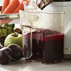 Apple-Beet_Carrot Juice:1 apple  2 beets  3 large carrots  1 (1-inch) piece of ginger  Spinach or kale (optional)