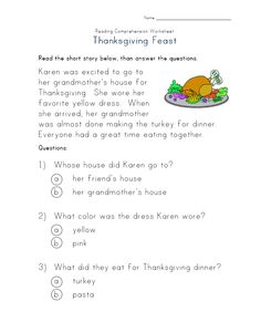 Free Printables Thanksgiving Activities For Toddlers