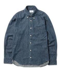 【ZOZOTOWN|送料無料】BEAMS LIGHTS Men's(ビームスライツ メンズ)のシャツ/ブラウス「Manual Alphabet / デニムボタンダウンシャツ(日本製)」(51-11-0427-165)を購入できます。