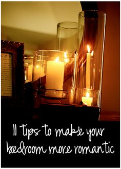 11 Tips To Make Your Bedroom More Romantic