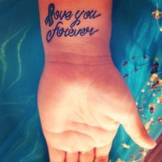 Ovarian Cancer Tattoo in honor of a one of a kind auntie, miss you Pauly