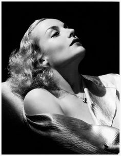 Carole Lombard by George Hurrell
