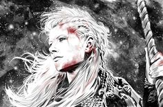 Lagertha by michelebandini