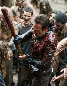 'THE BIG SCARY U' - NEGAN AND THE WALKERS