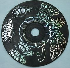 Instructables CD scratch art