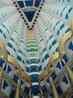 Dubai, Burj Al Arab - Atrium