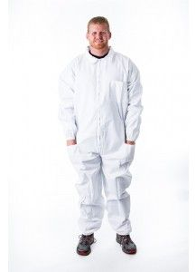 Standard Bee Coverall--standard bee coverall made of 100% cotton.  Sizes small to 5X.  Does not come with hood.