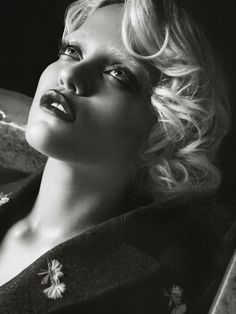 """Sky Ferreira by Tom Munro in """"Lost In My Bedroom"""" for Vogue Italia, Oct 2013"""