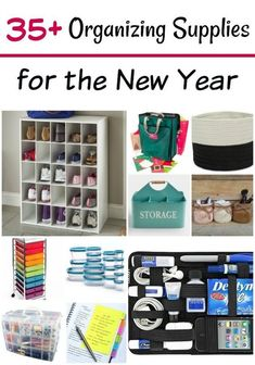 35+ Organizing Supplies for Your Home - Looking to get organized soon? These organizing supplies are perfect for any budget! #organizing #organize #getorganized #budgetfriendly #home #organizedhome