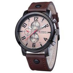 CURREN Men Watches Luxury Casual Men Watches Analog Military Sports Watch Quartz Male Wristwatches Relogio Masculino