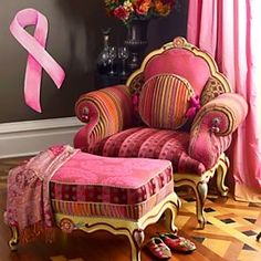 """Buy """"pink"""" home goods at MacKenzie-Childs and help fund a great breast cancer cause"""