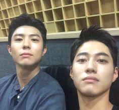 Park Bo-gum, Kwak Dong-yeon share photos | Koogle TV