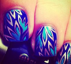 So lovely nail design.20 Most Popular Nail Design Ideas #nail #nails
