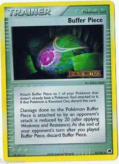 Pokemon Card EX Dragon Frontiers Reverse Holo Uncommon Buffer Piece 72/101